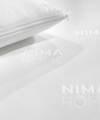 Σετ Προστατευτικό Κάλυμμα Μαξιλαριού (50x70) ABBRACCIO JACQUARD της NIMA HOME
