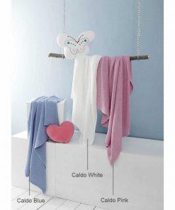 Βρεφική Κουβέρτα Κούνιας (bebe) CALDO PINK της NIMA HOME