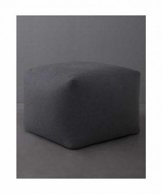 Πουφ (50x50x35) EASE GRAY της NIMA HOME