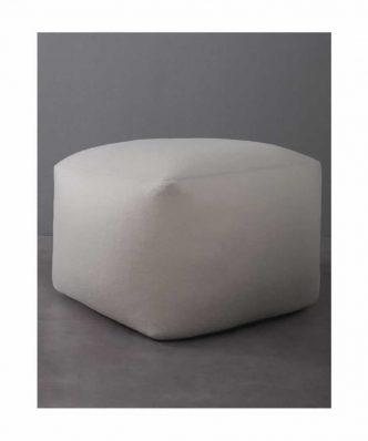 Πουφ (50x50x35) EASE BEIGE της NIMA HOME
