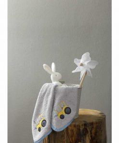 Βρεφική Πετσέτα (bebe) TRACTOR (30X30) της NIMA HOME