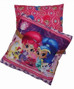 Παιδικό Διακοσμητικό Μαξιλάρι (40x40) Cartoon Line SHIMMER & SHINE 5502 της Das Home/NICKELODEON