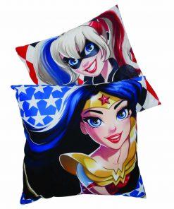 Παιδικό Διακοσμητικό Μαξιλάρι (40x40) Cartoon Line SUPER HERO Girls 5504 της Das Home