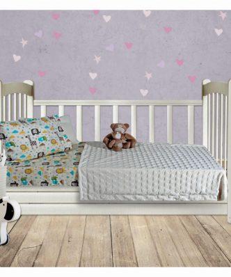 Βρεφική Fleece Κουβέρτα Κούνιας (bebe) Relax Line 6365 της Das Home