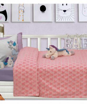 Βρεφική Κουβέρτα Κούνιας (bebe) Relax 6468 της Das Home