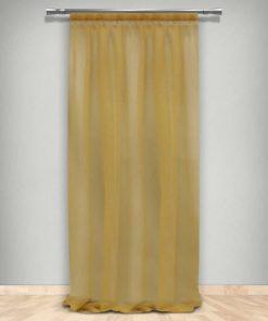 Κουρτίνα με Τρέσα (145x270) 66-DZ BRONZE 660202 της Maison Blanche