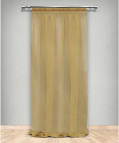 Κουρτίνα με Τρέσα (145x270) 66-DZ GOLD 660203 της Maison Blanche
