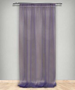 Κουρτίνα με Τρέσα (145x270) 66-DZ MAVVE 660205 της Maison Blanche