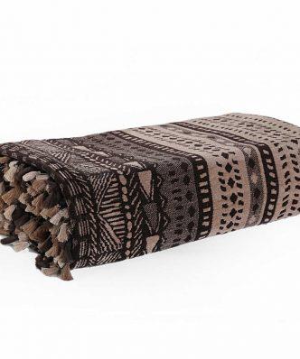 Διακοσμητικό Ριχτάρι Πολυθρόνας (130x170) AFRICA BEIGE/BROWN της NEF-NEF