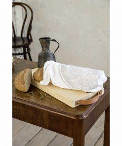 Υφασμάτινη Τσάντα για ψωμί - Baguette της NIMA HOME (23x43)
