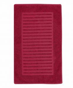 Πατάκι Μπάνιου (50x80) VENUS TERRY BORDO της NEF-NEF