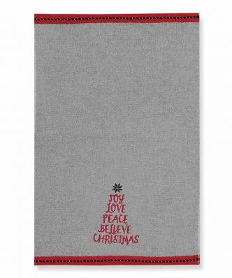 Χριστουγεννιάτικο Σετ Πετσέτες Χεριών (2τμχ.) BELIEVE CHRISTMAS της NEF-NEF