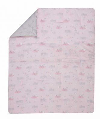 Βρεφικό Πάπλωμα Κούνιας (110x140) bebe BUNNY LIFE της NEF-NEF