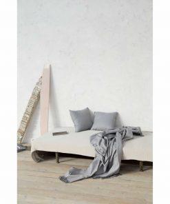 Ριχτάρι Τριθέσιου Καναπέ CASTE της NIMA HOME (180x300) GRAY