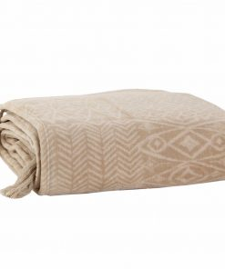 Fleece Κουβέρτα Καναπέ / Ριχτάρι (130x170) CEDAR BEIGE της NEF-NEF