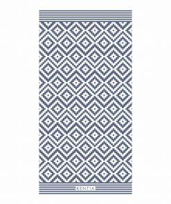CHIOS Βελουτέ Πετσέτα Θαλάσσης της ΚΕΝΤΙΑ (80x160)