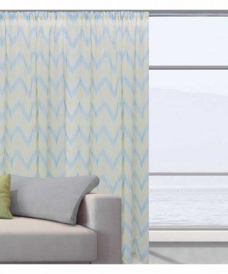 Κουρτίνα με τρέσα (140x280) Curtain Line 2045 της Das Home