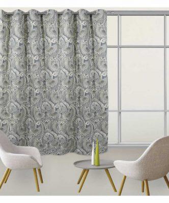 Κουρτίνα με κρίκους (140x280) Curtain Line 2057 της Das Home