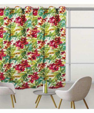 Κουρτίνα με κρίκους (140x280) Curtain Line 2058 της Das Home