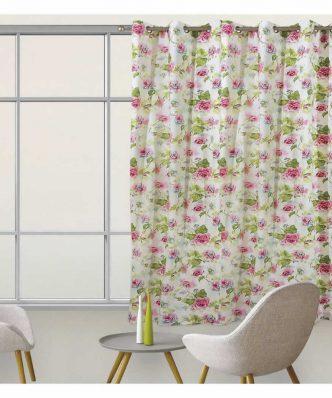 Κουρτίνα με κρίκους (140x280) Curtain Line 2060 της Das Home