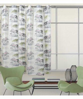 Κουρτίνα με κρίκους (140x280) Curtain Line 2063 της Das Home