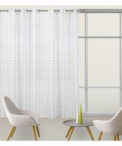Κουρτίνα με κρίκους (140x280) Curtain Line 2074 της Das Home
