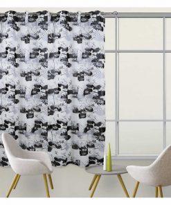Κουρτίνα με κρίκους (140x280) Curtain Line 2075 της Das Home