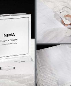 Ηλεκτρική Κουβέρτα Μονή ELECTRIC BLANKET της NIMA HOME
