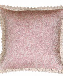 Διακοσμητικό Μαξιλάρι (45x45) ELISABETH PINK της NEF-NEF