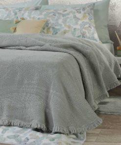 Κουβέρτα Υπέρδιπλη ELVIRA MINT της NEF-NEF