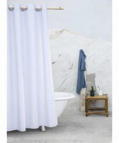 Κουρτίνα Μπάνιου ESSENTIAL της NIMA HOME (180x200) GRAY