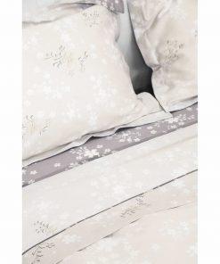 Σετ Βαμβακοσατέν Σεντόνια Διπλά FAIR της NIMA HOME (200x270) BEIGE