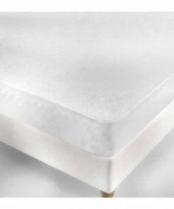 Αδιάβροχο Ξενοδοχειακό Προστατευτικό κάλυμμα στρώματος (160x200) - 100% Βαμβάκι