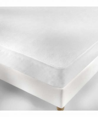 Αδιάβροχο Ξενοδοχειακό Προστατευτικό κάλυμμα στρώματος (120x200) - 100% Βαμβάκι