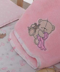 Fleece Βρεφική Κουβέρτα Αγκαλιάς (bebe) Forever Friends NAP TIME της NEF-NEF