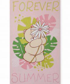 Παιδική Βελουτέ Πετσέτα Θαλάσσης (70x120) FOREVER SUMMER της NEF-NEF