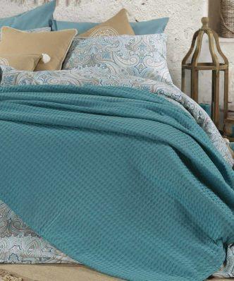 Κουβέρτα Πικέ Υπέρδιπλη GOLF της Nef-Nef