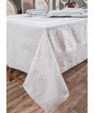 Σετ Πετσέτες Φαγητού (4 τμχ.) JEWEL 03 ΓΚΡΙ της TEORAN