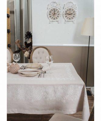 Σετ Πετσέτες Φαγητού (4 τμχ.) LACE 01 ECRU της TEORAN