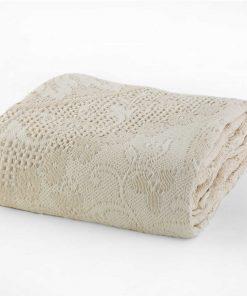 Κουβέρτα Υπέρδιπλη ILIANA ECRU της NEF-NEF