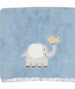 Fleece Βρεφική Κουβέρτα Αγκαλιάς (bebe) JUNGLE TIME της NEF-NEF