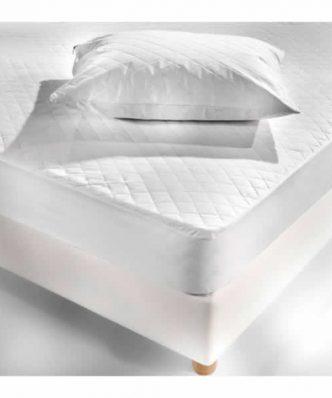 Καπιτονέ Ξενοδοχειακό Προστατευτικό κάλυμμα Στρώματος (160x200) - 50% Βαμβάκι / 50% Polyester