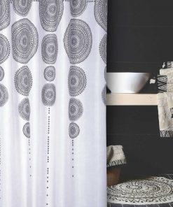 Κουρτίνα Μπάνιου DIEGO της NEF-NEF (180x180) BLACK
