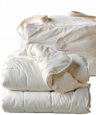 LAMBSWOOL Μάλλινο Πάπλωμα Μονό της ΚΕΝΤΙΑ (160x240)
