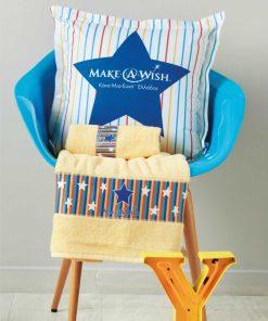 MAW 01 MAKE-A-WISH Σετ Παιδικές Πετσέτες Μπάνιου (2τμχ) της ΚΕΝΤΙΑ