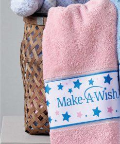 MAW 03 MAKE-A-WISH Σετ (2τμχ) Παιδικές Πετσέτες Μπάνιου της ΚΕΝΤΙΑ