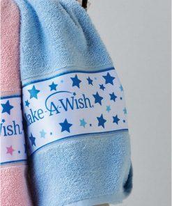 MAW 04 MAKE-A-WISH Σετ (2τμχ) Παιδικές Πετσέτες Μπάνιου της ΚΕΝΤΙΑ