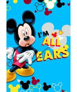 Αυθεντικό Παιδικό Χαλάκι (133x190) Digital Print MK 02 της Disney
