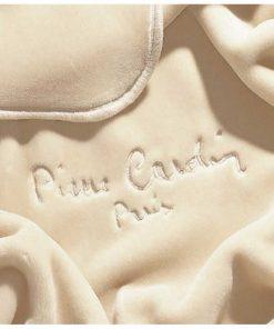 King Size (Γίγας) Βελουτέ Κουβέρτα Ισπανίας NANCY 545/15 της PIERRE CARDIN