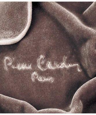 Υπέρδιπλη Βελουτέ Κουβέρτα Ισπανίας NANCY 545/7 της PIERRE CARDIN